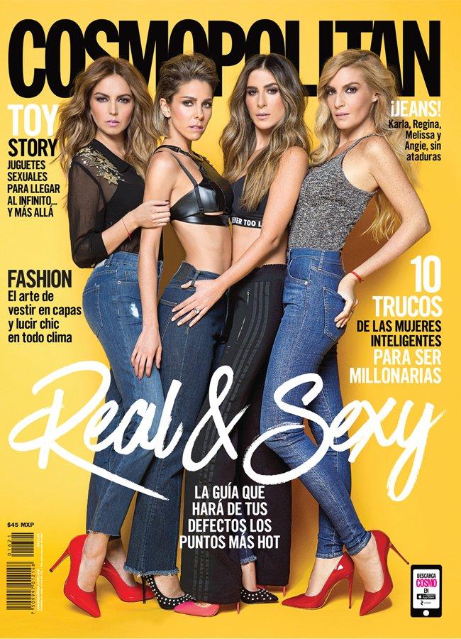 Jeans en portada de Cosmopolitan