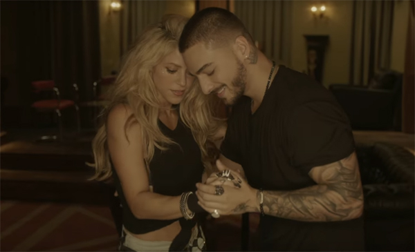 Shakira y Maluma en video Chantaje