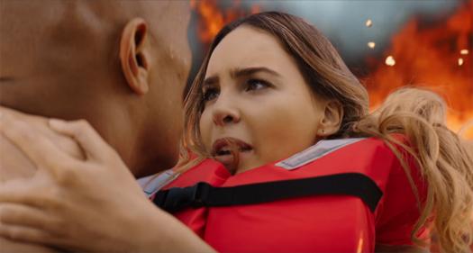 Belinda en trailer de Baywatch