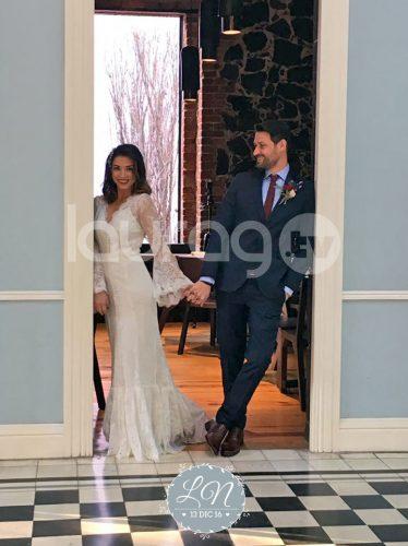 Se casó Laura G