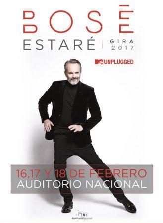 Miguel Bosé en Auditorio Nacional