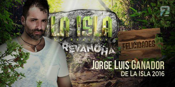 Jorge Luis ganador La Isla La Revancha