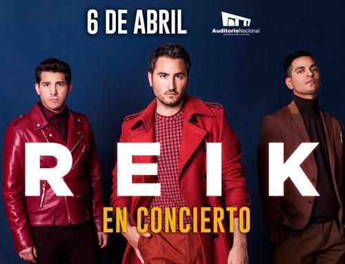 Reik en Auditorio Nacional 6 de abril