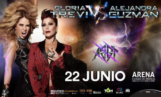 Gloria Trevi y Alejandra Guzmán en México