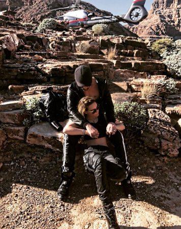 Belinda y Criss Angel