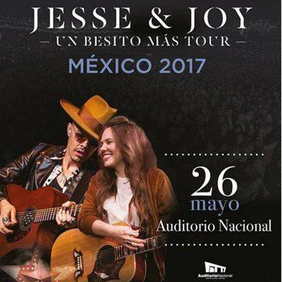 Jesse & Joy en Auditorio Nacional 26 de mayo