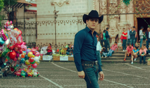 Julián Figueroa en video Volaré