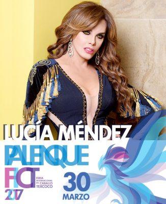 Lucía Méndez en Texcoco