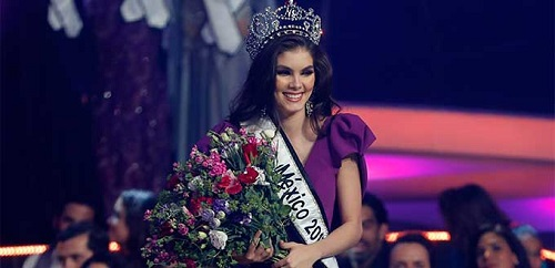 Denisse Franco Piña ganadora de Nuestra Belleza México