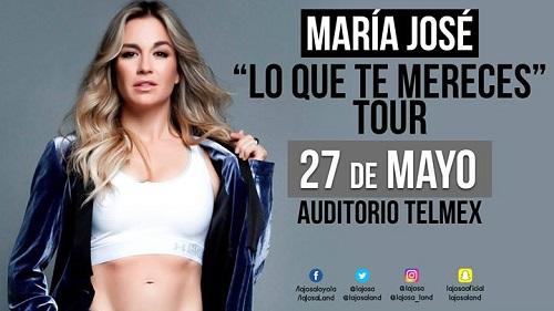 María José en Auditorio Telmex 27 de mayo