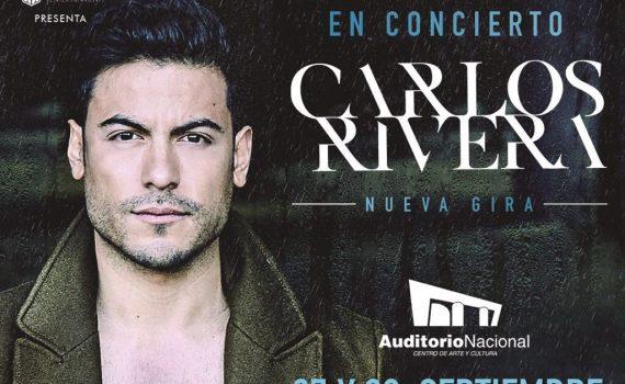 Carlos Rivera en Auditorio Nacional