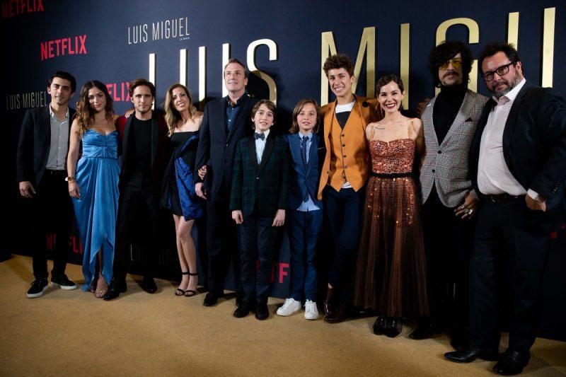 Luis Miguel La Serie elenco