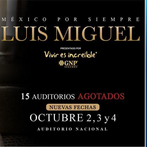 Luis Miguel auditorio