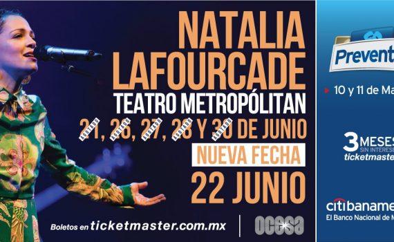 Natalia Lafourcade en Teatro Metropólitan