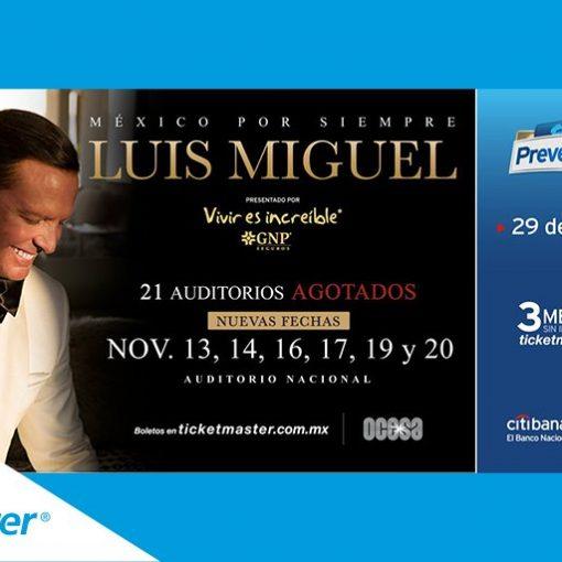 Luis Miguel en Auditorio