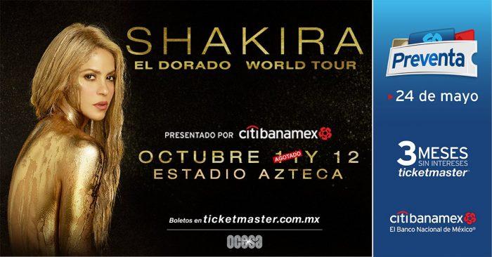 Shakira Estadio Azteca