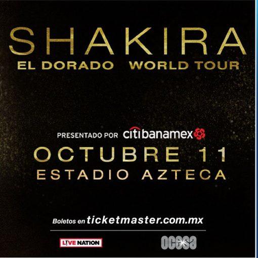 Shakira en México